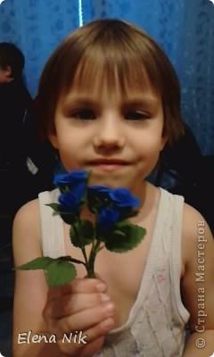 Доброй ночи,дорогие мастерицы.Вот такие кустовые розы я подарила подругам на праздник фото 5