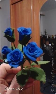 Доброй ночи,дорогие мастерицы.Вот такие кустовые розы я подарила подругам на праздник фото 4