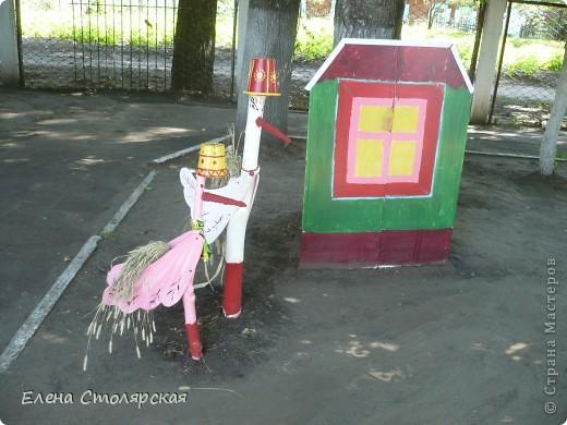 Сделала на участке детского сада фото 8