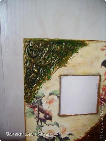 """Зеркало для подруги """"Райские птицы"""" фото 2"""