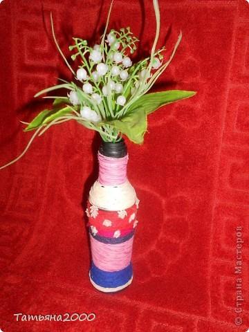 Попробовала сделать вазочку фото 2