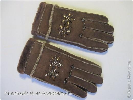 "Перчатки ""зимняя сказка"" фото 2"