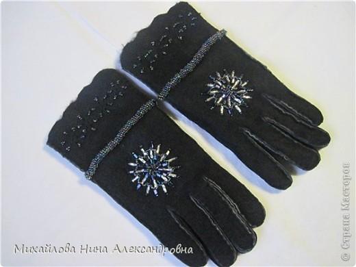 "Перчатки ""зимняя сказка"" фото 5"