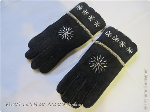 "Перчатки ""зимняя сказка"" фото 6"
