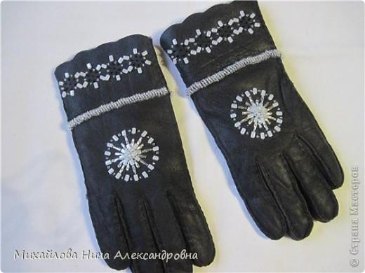 "Перчатки ""зимняя сказка"" фото 8"