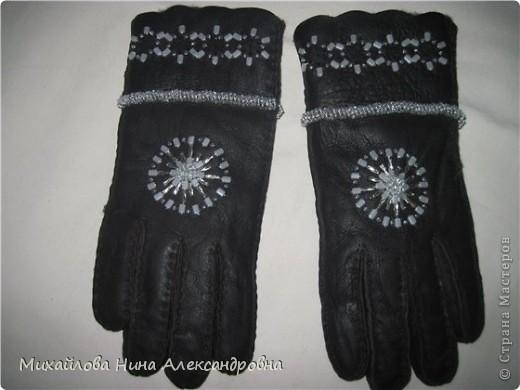 "Перчатки ""зимняя сказка"" фото 9"