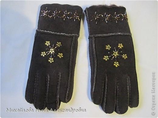"Перчатки ""зимняя сказка"" фото 10"
