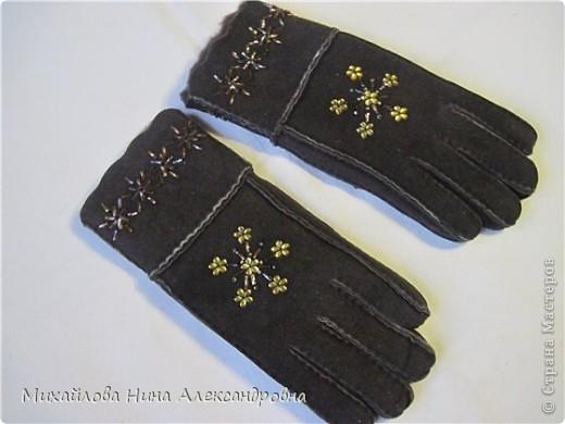 "Перчатки ""зимняя сказка"" фото 11"