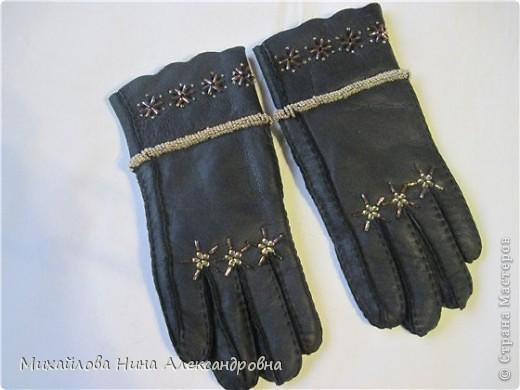 "Перчатки ""зимняя сказка"" фото 13"