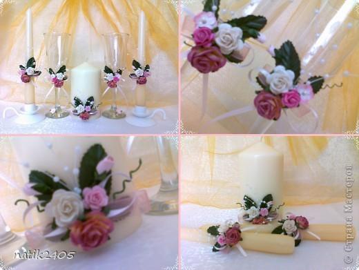 Первый набор в розовых тонах... фото 3