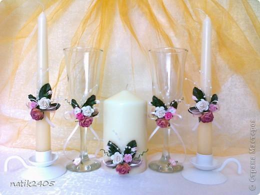 Первый набор в розовых тонах... фото 1