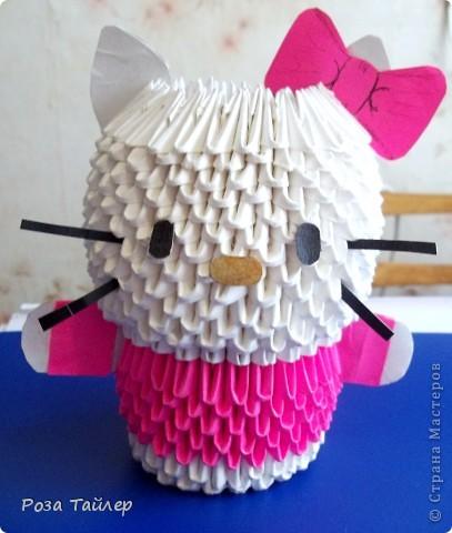 Этот котенок-мой маленький друг!!! Обажаю оригами!!!