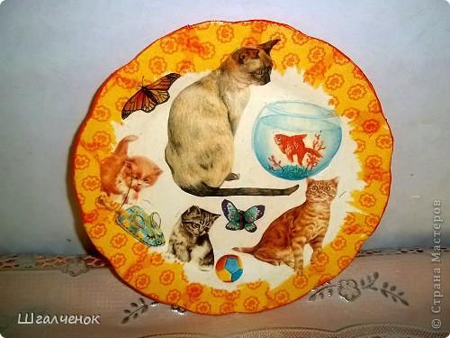 Вот такие у меня получились тарелочки фото 5
