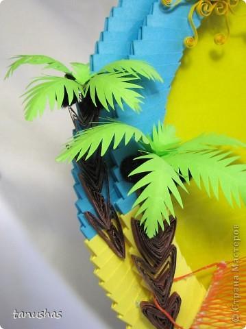 Не устаю желать всем доброго времени суток! Очередная рамочка (надеюсь еще никого ими не утомила :) ).  Ныне тематика отпускная! Давненько не грела я пузо на солнышке, а так хочется туда, где тепло, пальмы, море, солнце...  Подарена друзьям, которые очень любят отдыхать в Тайланде. фото 5