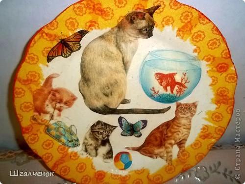 Вот такие у меня получились тарелочки фото 6