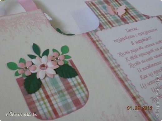 Всем привет!!!  Хочу сегодня показать ещё немного подарков к 8 марта. Заглядываясь на карандашницы МАРСАМ https://stranamasterov.ru/node/316216 и АлёныАлександровны https://stranamasterov.ru/node/301806 , решилась сделать и я. Вот ссылочка на МК Динули http://paper-fairytale.blogspot.com/2011/07/blog-post_30.html  фото 12