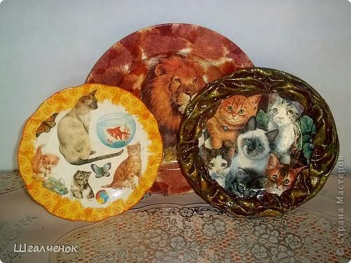 Вот такие у меня получились тарелочки фото 1