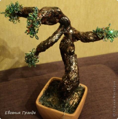Моё первое дерево.... Я им горжусь (хотя не всем оно нравиться)... фото 1