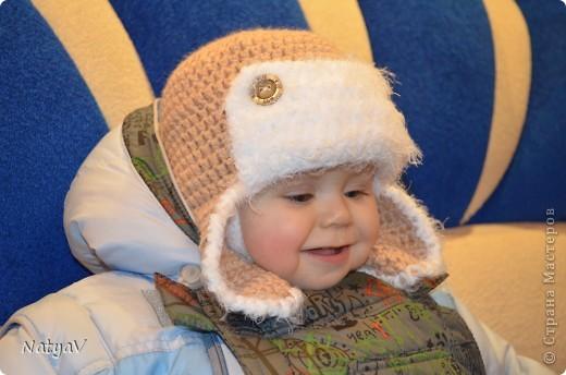 Наша зимняя шапочка!!!
