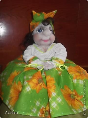 "Кукла на чайник ""Маргоша"" фото 2"