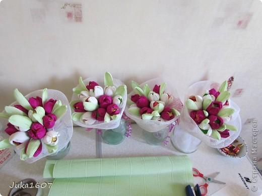 Здравствуй СТРАНА. Крокусы, воспитателям в садик, ждут упаковки. фото 2