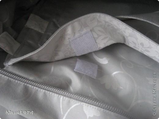 Новая сумка готова. В этот раз на длинной ручке с пряжкой для регулеровки. фото 6
