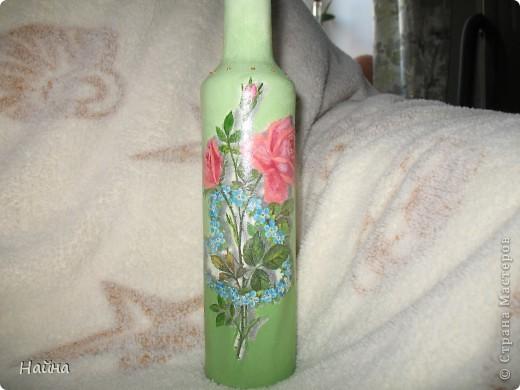 Ну вот и я добралась до бутылочек, а то у всех есть бутылочки красивые , а у меня нет... фото 3