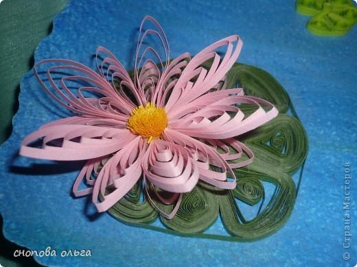 Этот цветок я сделала маме на 8 Марта фото 1