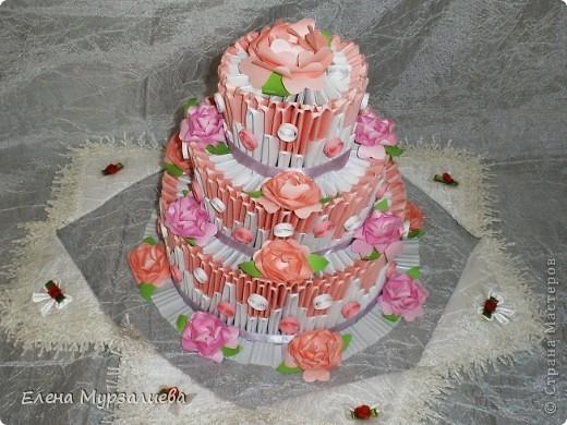 китайское модульное Торт
