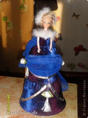 Все куклы созданы по мастер классам ineska https://stranamasterov.ru/node/128514 и Ксения 2010 https://stranamasterov.ru/node/208355. Украшала правда, используя собственную фантазию.  фото 7