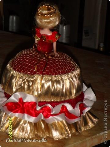 Все куклы созданы по мастер классам ineska https://stranamasterov.ru/node/128514 и Ксения 2010 https://stranamasterov.ru/node/208355. Украшала правда, используя собственную фантазию.  фото 15