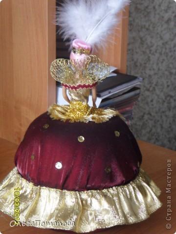 Все куклы созданы по мастер классам ineska https://stranamasterov.ru/node/128514 и Ксения 2010 https://stranamasterov.ru/node/208355. Украшала правда, используя собственную фантазию.  фото 20