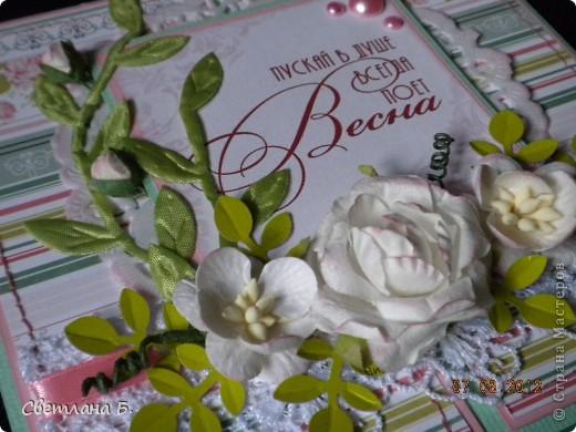 Всем привет!!!  Хочу сегодня показать ещё немного подарков к 8 марта. Заглядываясь на карандашницы МАРСАМ https://stranamasterov.ru/node/316216 и АлёныАлександровны https://stranamasterov.ru/node/301806 , решилась сделать и я. Вот ссылочка на МК Динули http://paper-fairytale.blogspot.com/2011/07/blog-post_30.html  фото 15