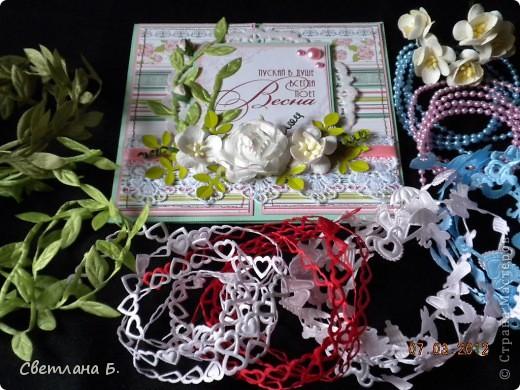 Всем привет!!!  Хочу сегодня показать ещё немного подарков к 8 марта. Заглядываясь на карандашницы МАРСАМ https://stranamasterov.ru/node/316216 и АлёныАлександровны https://stranamasterov.ru/node/301806 , решилась сделать и я. Вот ссылочка на МК Динули http://paper-fairytale.blogspot.com/2011/07/blog-post_30.html  фото 14