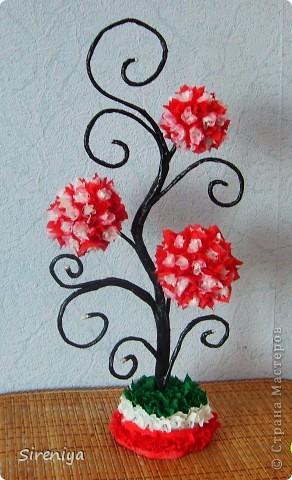 Вот такое дерево получилось по мк Эдельвейс  https://stranamasterov.ru/node/302839?c=favorite  (благодарность автору) фото 2