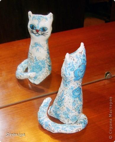 Кофейно-запеченые декупажные киски-ангелочки с нежным запахом корицы фото 5