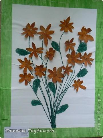 Цветы из апельсиновой кожуры страна