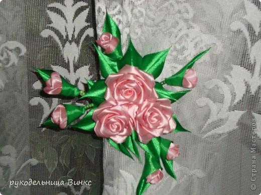 Как сделать цветы из атласной ленты для штор своими руками