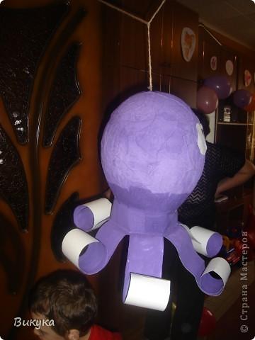 Пиньяту сделала сыну на день рождения.  фото 2