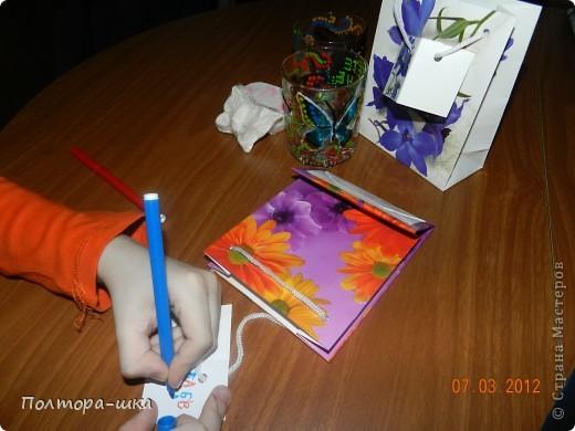 Сделали подарки на 8 марта. фото 2
