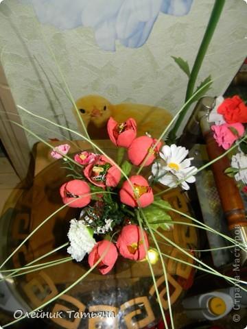 В эти цветочки спрятаны конфетки  К сожалению, я недавно на сайте, поэтому мастер класс не снимала фото 5