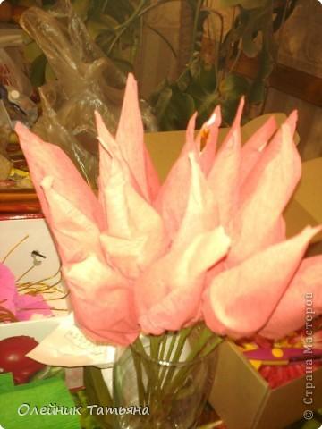 В эти цветочки спрятаны конфетки  К сожалению, я недавно на сайте, поэтому мастер класс не снимала фото 11
