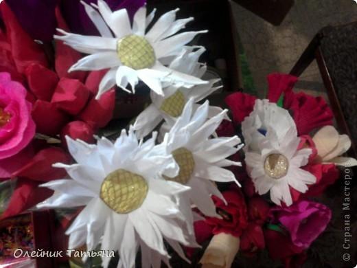 В эти цветочки спрятаны конфетки  К сожалению, я недавно на сайте, поэтому мастер класс не снимала фото 8