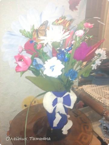 В эти цветочки спрятаны конфетки  К сожалению, я недавно на сайте, поэтому мастер класс не снимала фото 9