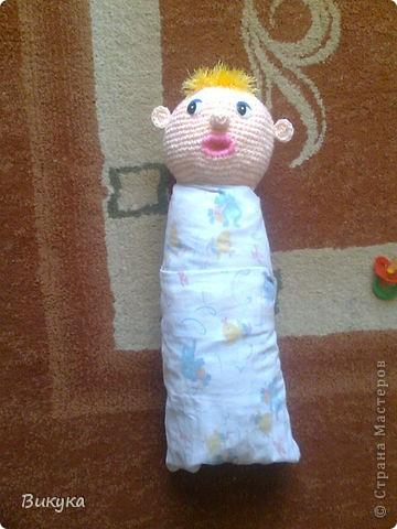 Малыша назвали Боря, но показался мне похожим на Бориса Маесеева. фото 3