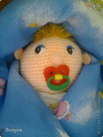 Малыша назвали Боря, но показался мне похожим на Бориса Маесеева. фото 2