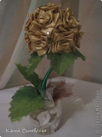 Вот такая розочка получилась в подарок мме на 8 МАРТА. Делала под впичатлением от этой замечательной работы!          https://stranamasterov.ru/node/267661  .Спасибо автору за такую красотищу. фото 2