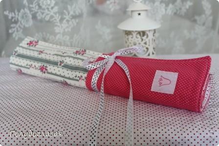 Чехол для спиц сшила в подарок для одного хорошего человека, который увлекается вязанием.  фото 1