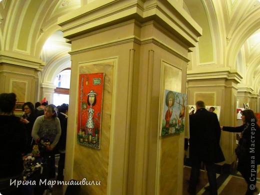 выставка работ Зураба Мартиашвили 08,03,12 фото 3