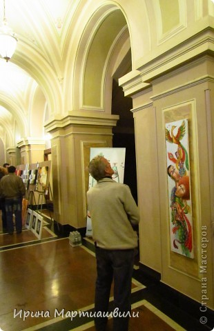 выставка работ Зураба Мартиашвили 08,03,12 фото 2